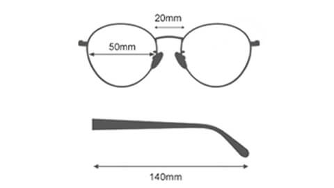 Sov Bedre - 1904 - Anti Blåt lys - Skærmbriller - Briller mod blåt lys - ikon størrelse