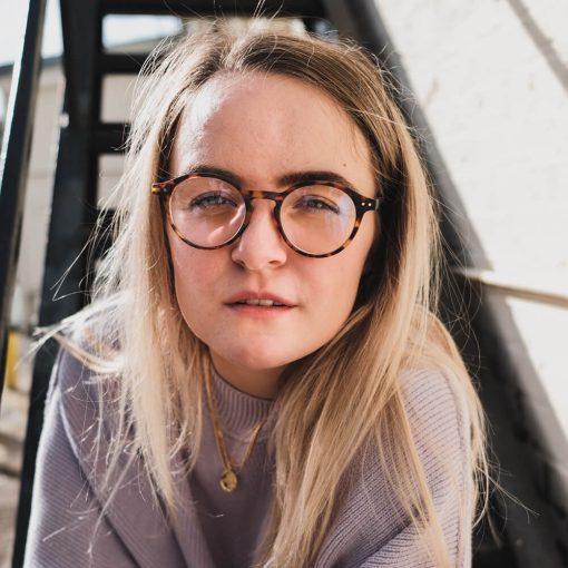 Sov Bedre - 4203 - Anti Blåt lys - Skærmbriller - Briller mod blåt lys - brun Hipster Computerbriller