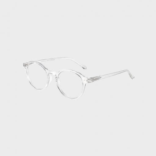 Hipster skærmbrille i gennemsigtig