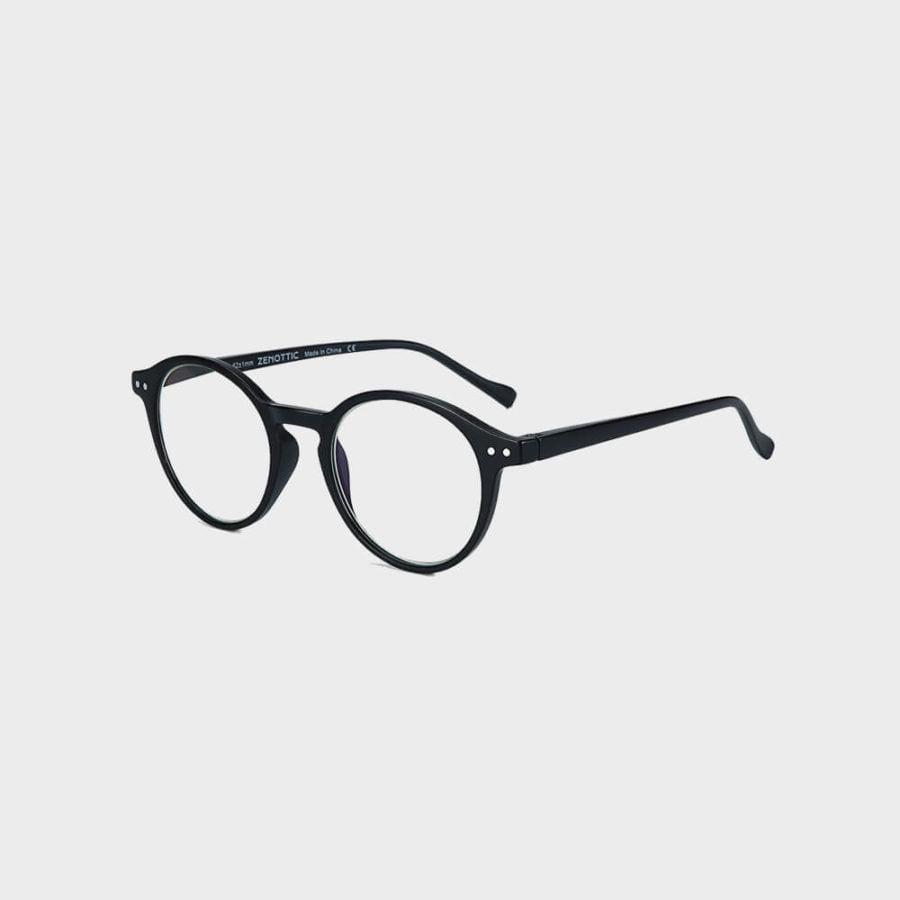 Hipster skærmbrille i sort