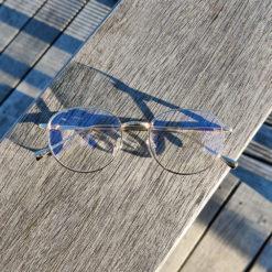 Sov Bedre - Ikon - Anti Blåt lys - Skærmbriller - Briller mod blåt lys - Blue Light Briller - Guld 1