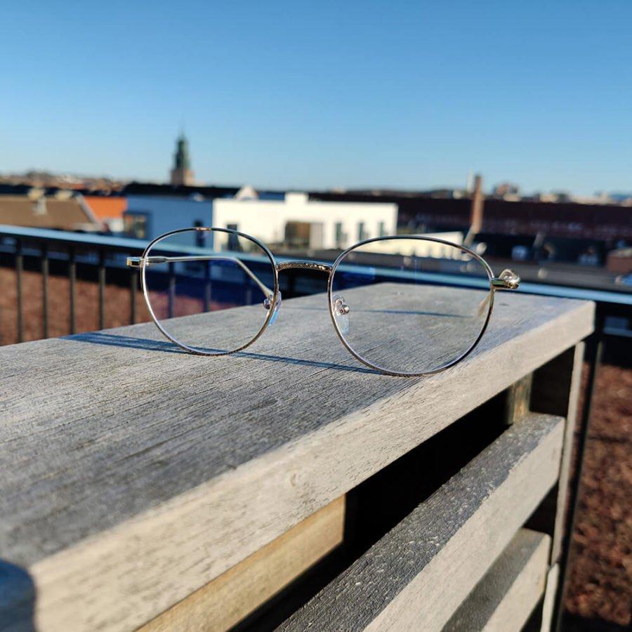 Sov Bedre - Ikon - Anti Blåt lys - Skærmbriller - Briller mod blåt lys - Blue Light Briller - Guld 2