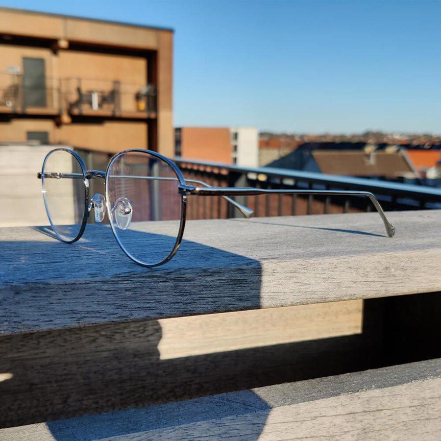 Sov Bedre - Ikon - Anti Blåt lys - Skærmbriller - Briller mod blåt lys - Blue Light Briller - sølv 3
