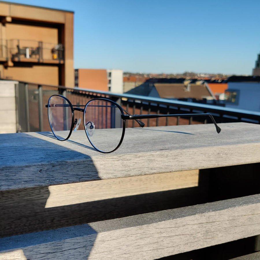 Sov Bedre - Ikon - Anti Blåt lys - Skærmbriller - Briller mod blåt lys - Blue Light Briller - sort 2