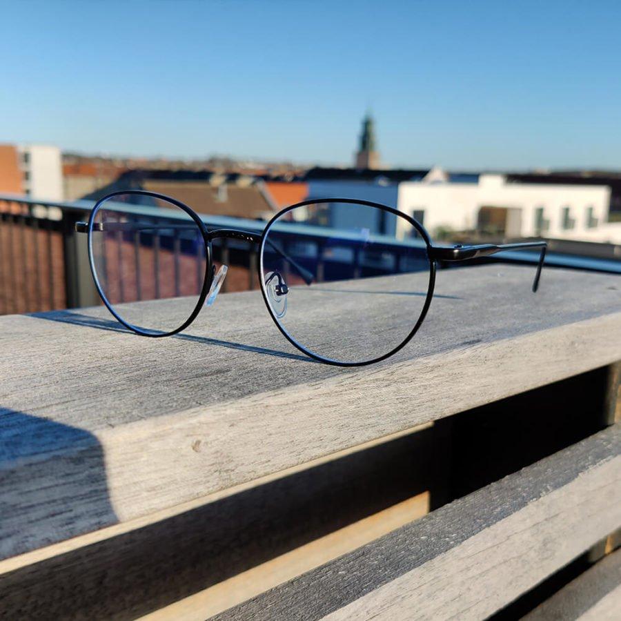 Sov Bedre - Ikon - Anti Blåt lys - Skærmbriller - Briller mod blåt lys - Blue Light Briller - sort 3