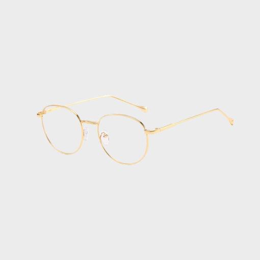 Sov Bedre - Ikon - Anti Blåt lys - Skærmbriller - Briller mod blåt lys - Guld 1