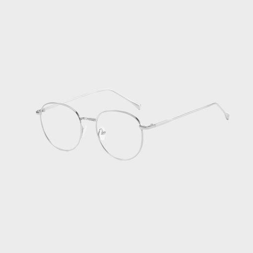 Sov Bedre - Ikon - Anti Blåt lys - Skærmbriller - Briller mod blåt lys - sølv 1