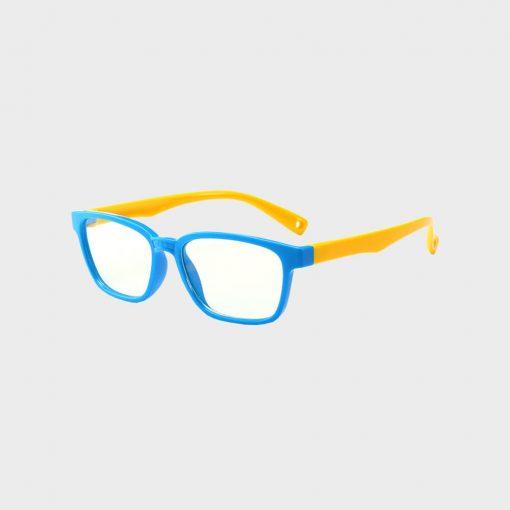 Skærmbriller-til-børn-briller-mod-blåt-lys beskytditsyn blå gul