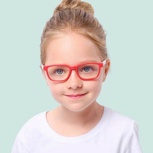 Skærmbriller-til-børn-briller-mod-blåt-lys beskytditsyn rød hvid 2