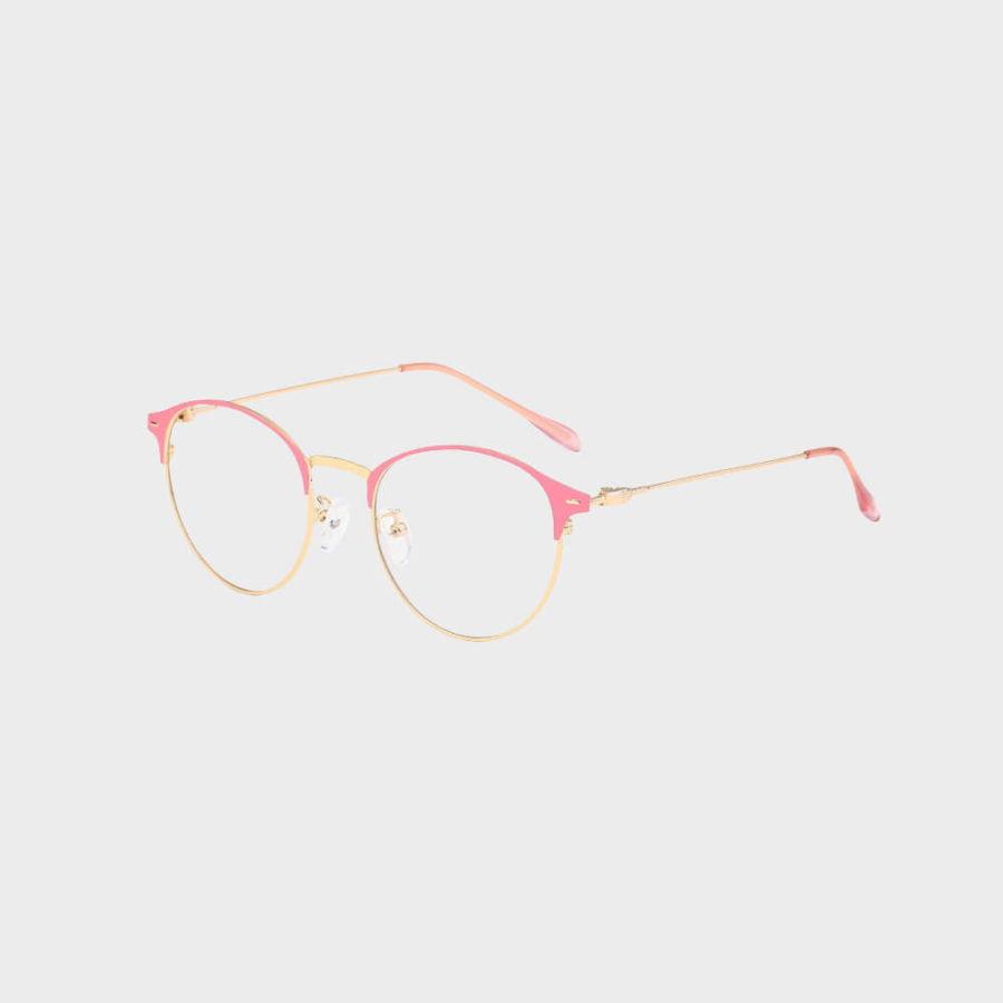 Moderne Skærmbriller - Anti Blåt lys – Briller mod blåt lys Pink