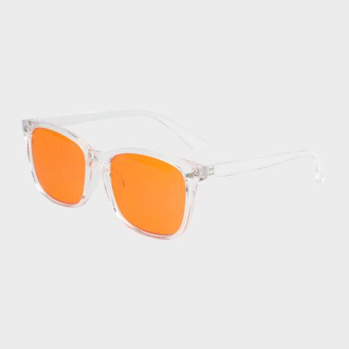 Twilight skærmbriller mod blå lys blue light briller uden styrke nattebriller sov bedre briller Gennemsigtig 2
