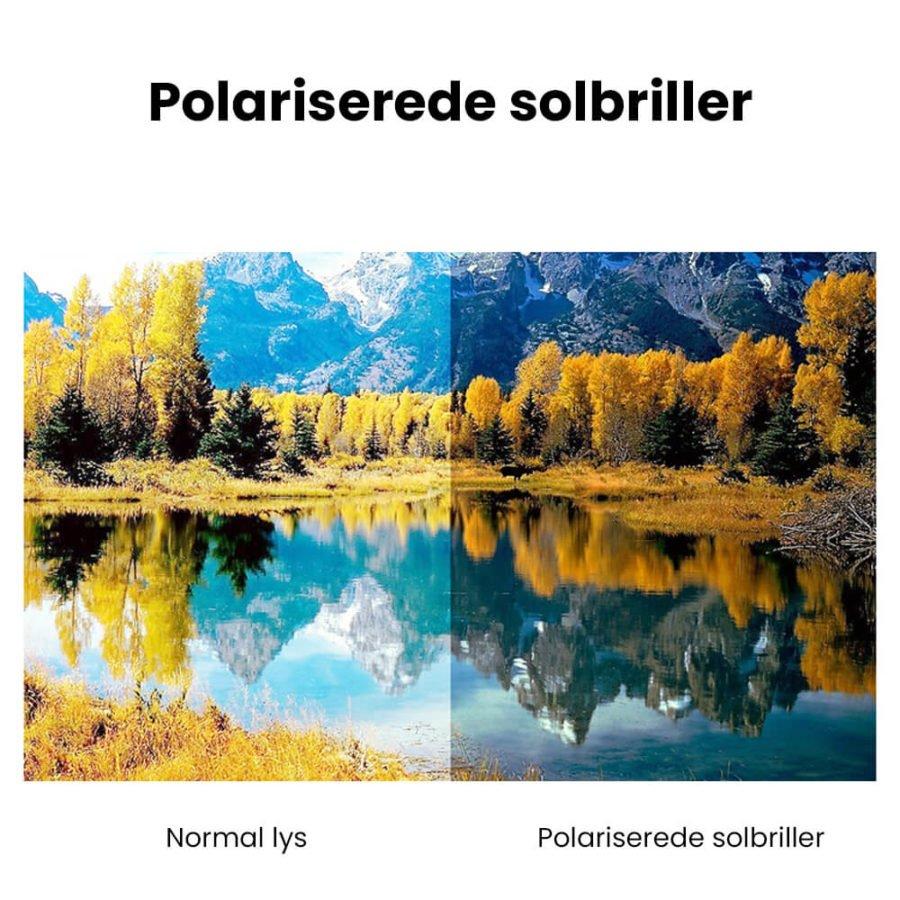 Square polariserede solbriller 5
